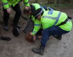 Vanda's Arrest by Greater Manchester Police at Barton Moss