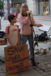 Market Street People's Assembly Protest in Manchester